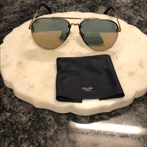 100% Authentic Celine Aviator Sunglasses